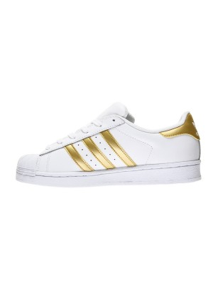 Оригинален adidas Superstar J, Бял, Кожен