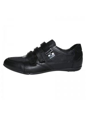 Черни мъжки обувки SCARPE ITALIANE