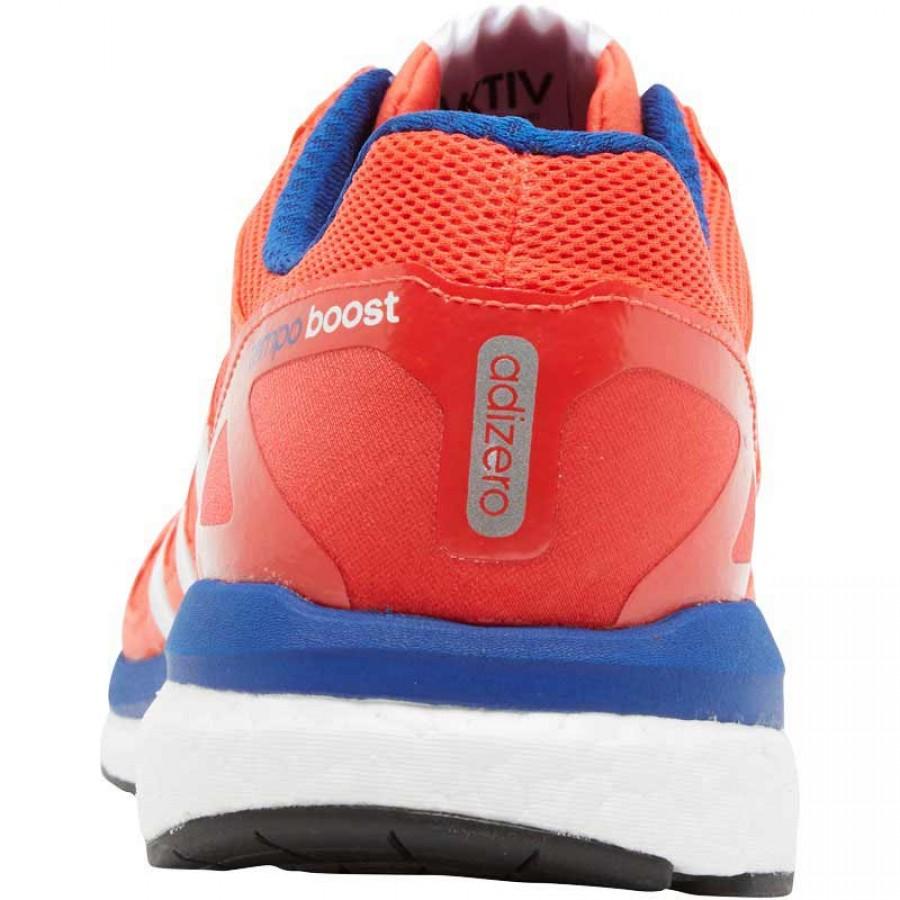 Оранжеви маратонки за мъже адидас