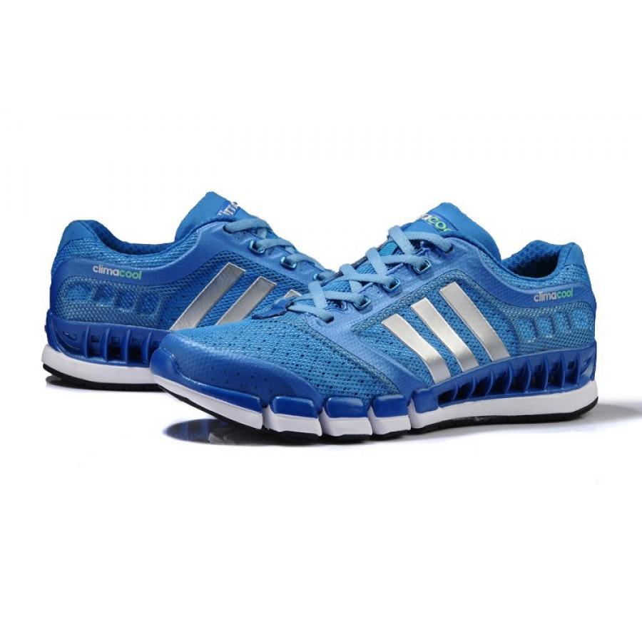 Сини мъжки маратонки Adidas Climacool CC Revoiution
