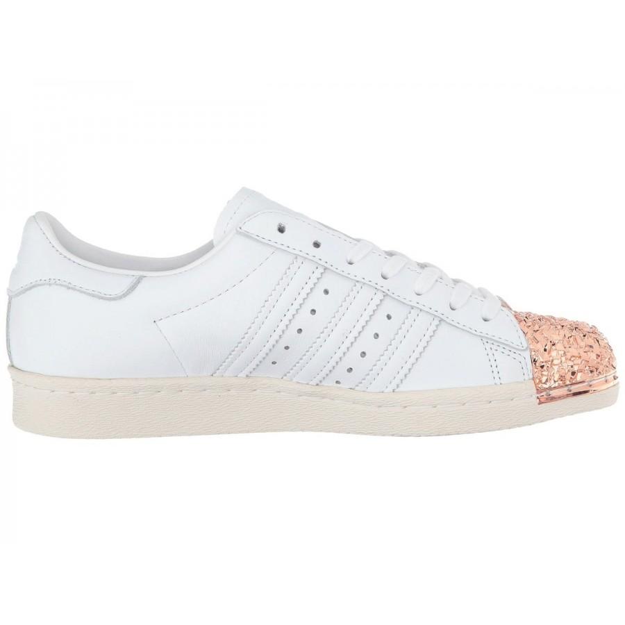 Бели спортни обувки Adidas Superstar 80s 3d