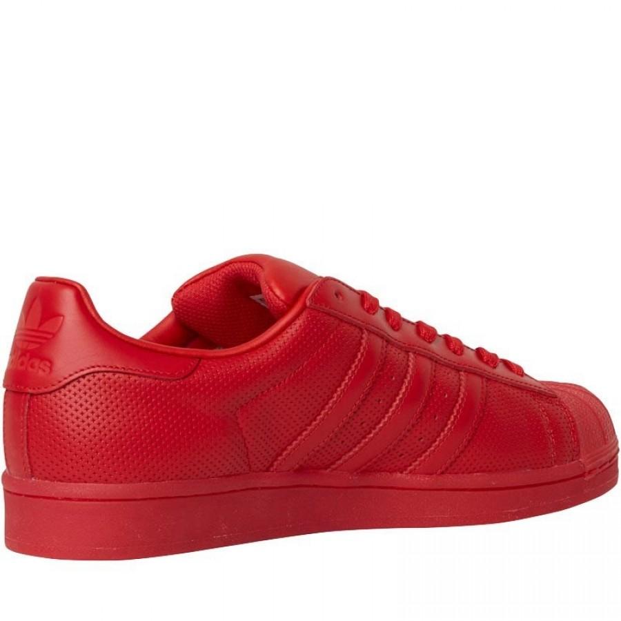 Червени кецове adidas superstar