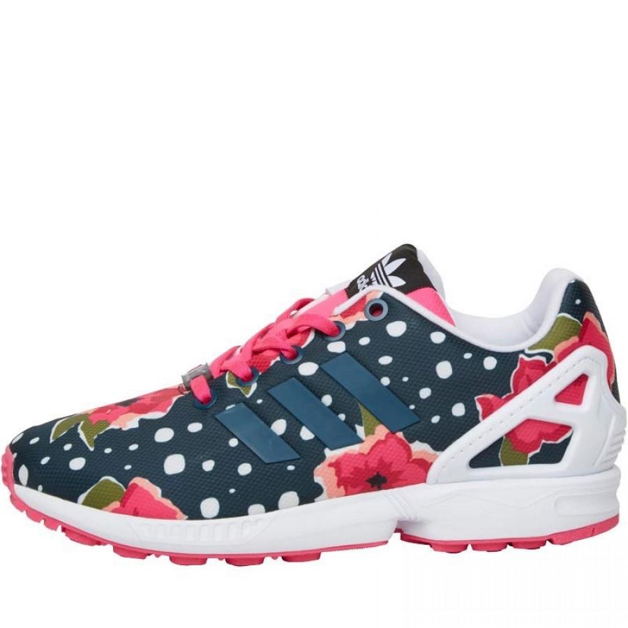Маркови оригинални дамски маратонки Adidas ZX Flux