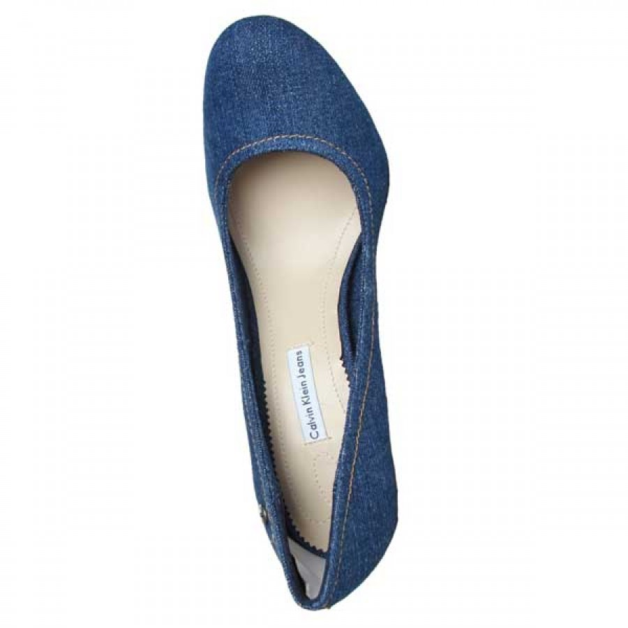 модерни обувки на платформа Calvin Klein