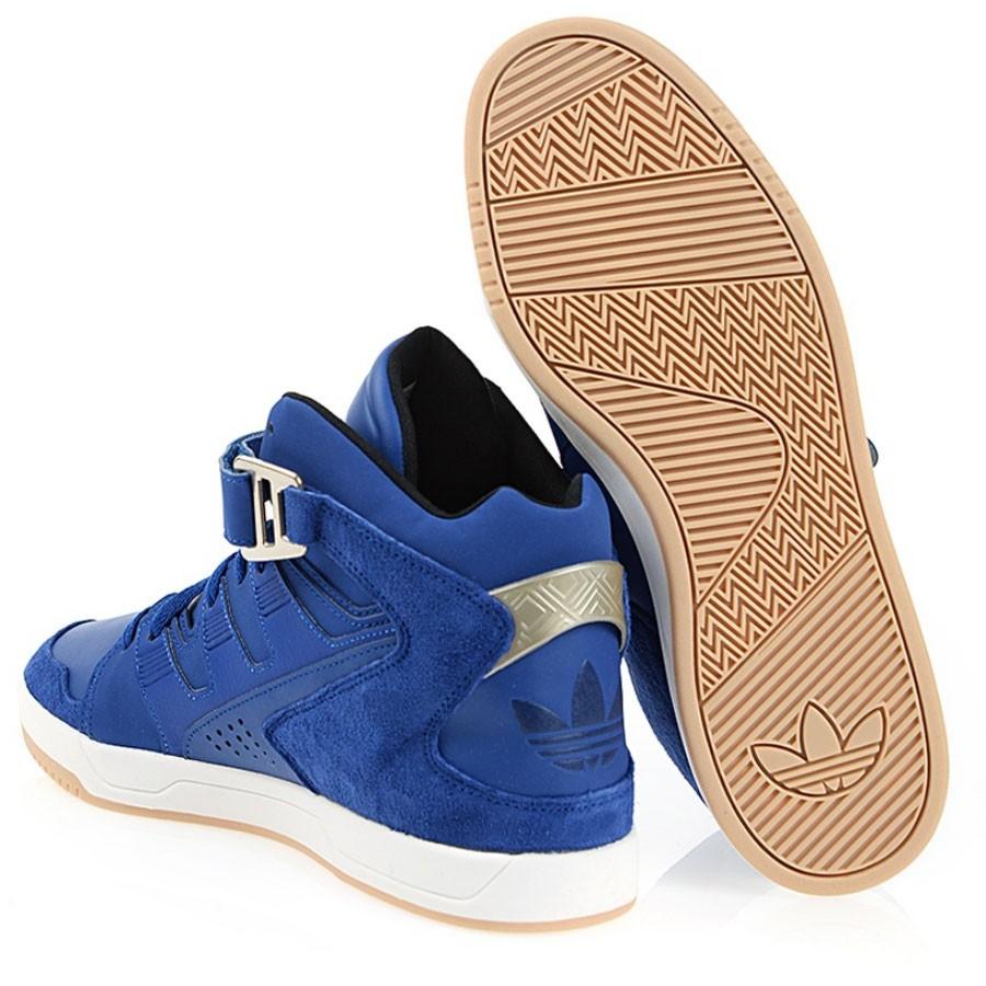 Кожени мъжки спортни обувки adidas