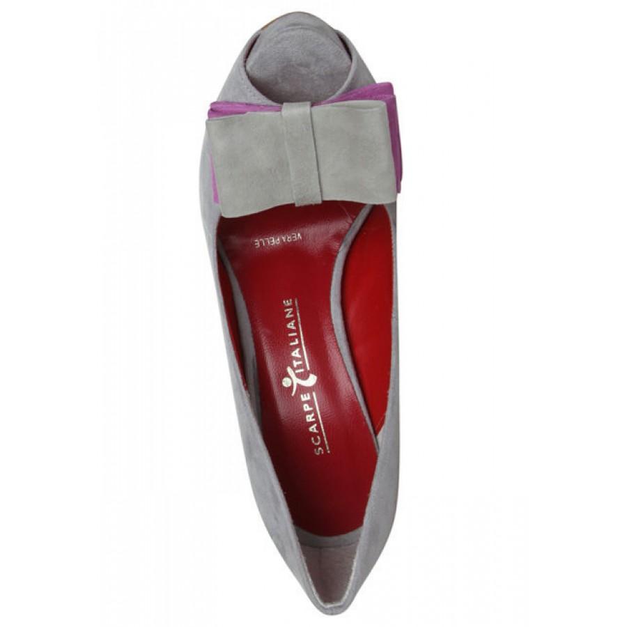 кожни обувки на ток