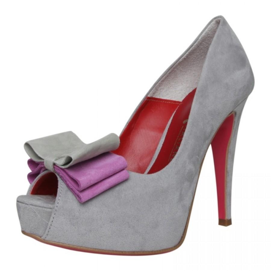 италиански обувки на платформа Scarpe