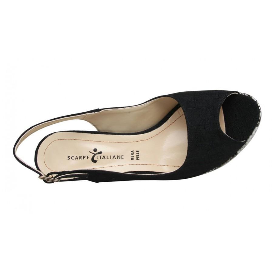 италиански дамски обувки на платформа