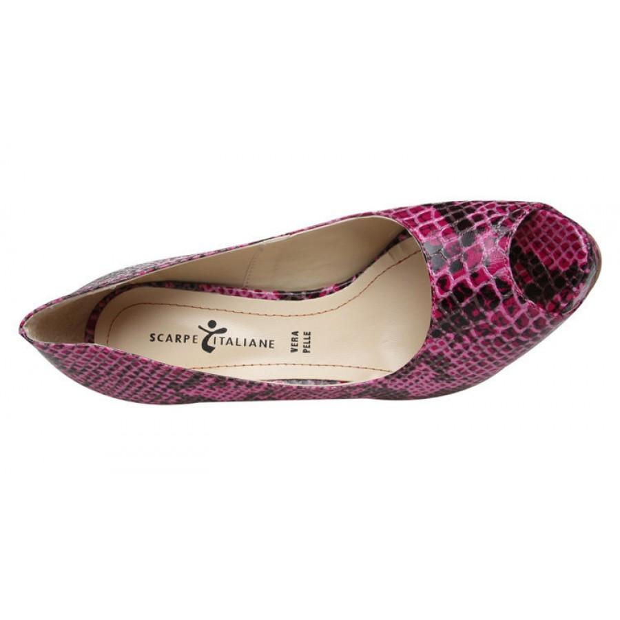 италиански маркови обувки на платформа