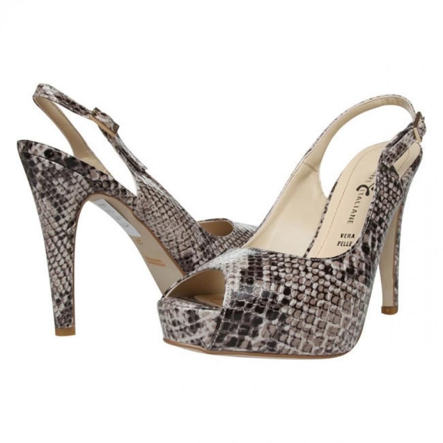 италиански обувки на ток